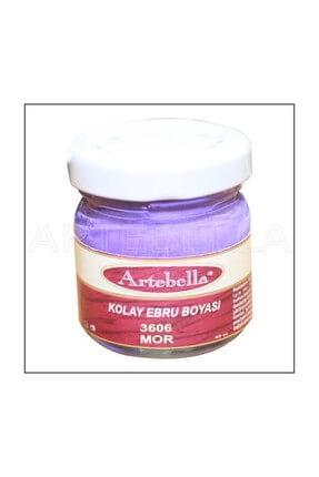 Artebella 3606 MOR Kolay Ebru Boyası 40cc