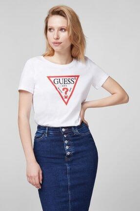 Guess Kadın  Orıgınal Tee T-Shirt