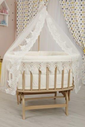 Bebekonfor Osmanlı Uyku Seti ile Amedan Gold Sepet Bebek Beşikleri