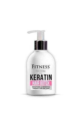 Fitness Professional Keratin Onarıcı Yıpranmış Kuru Saç Botoksu Hair Botox 250ml
