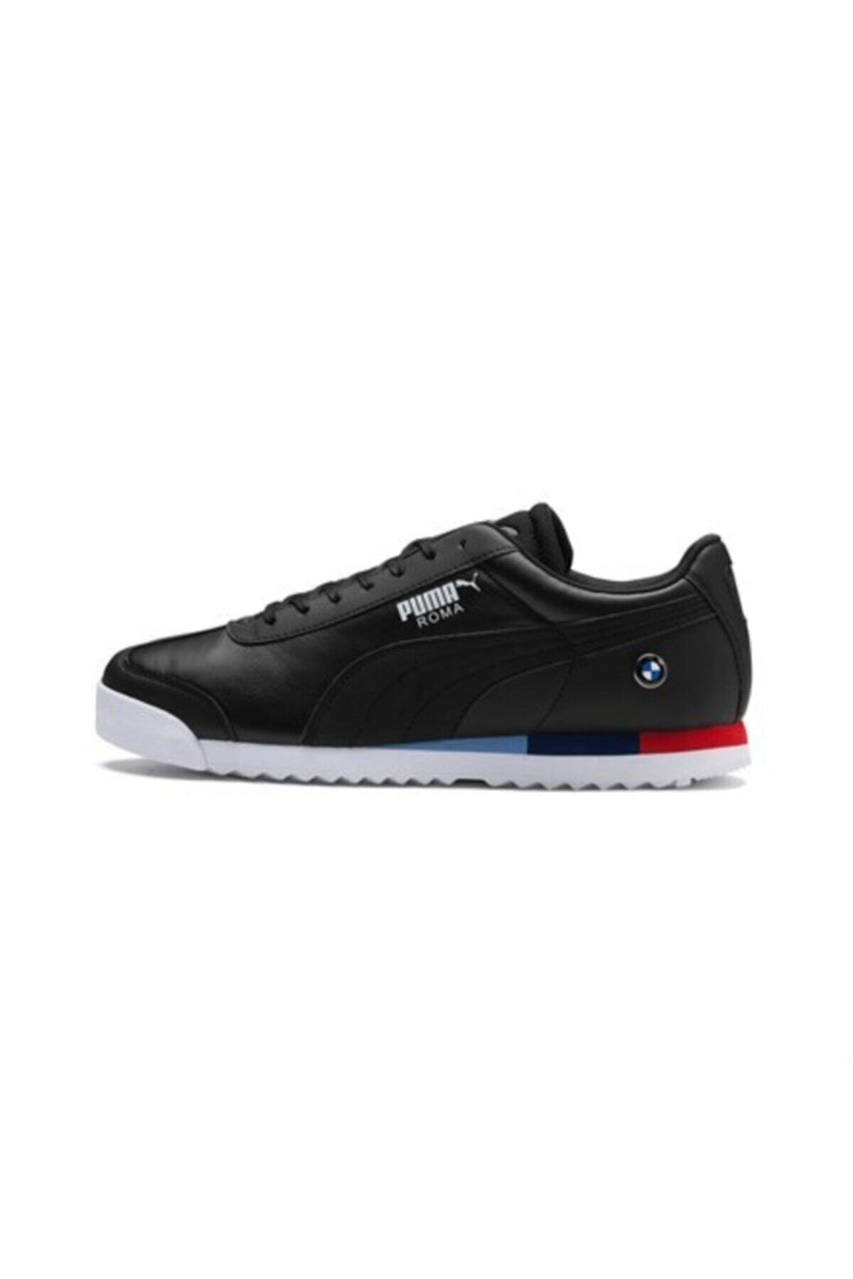 Puma Erkek Siyah Bmw Mms Roma Spor Ayakkabı 2