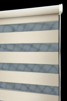 Tengo 80X200 Zebra Perde  Kraliçe Parlak Metalik Gold Stor