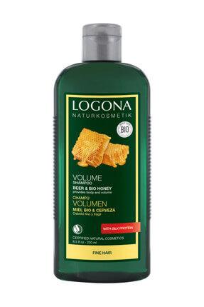 Logona Ballı & Biralı Hacim Kazandıran Şampuan 250 ml