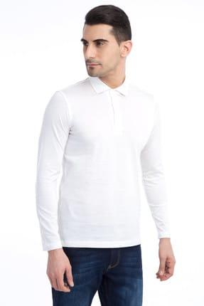 Kiğılı Erkek Beyaz Polo Yaka T-Shirt - 60373