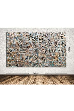 Tablo Center Dev Boyut Dekoratif Kanvas Tablo 100x140 cm 390474070-100140