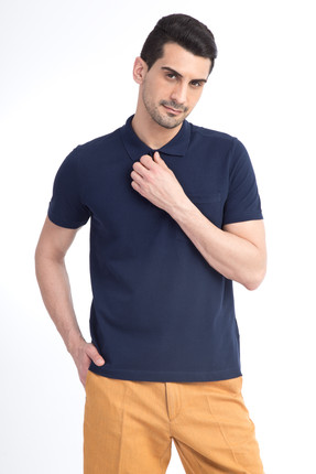 Kiğılı Erkek Lacivert Polo Yaka T-Shirt - 44146