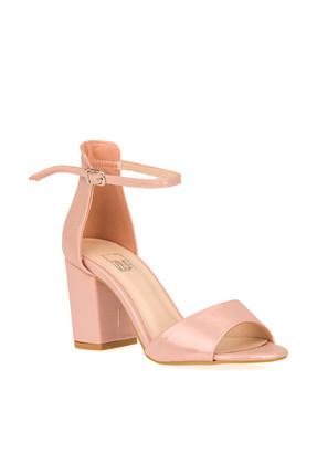 Ziya Pudra Kadın Topuklu Ayakkabı 9176 1146