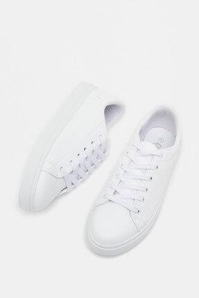 Koton Kadın Beyaz Casual Ayakkabı 9KAL23022AA