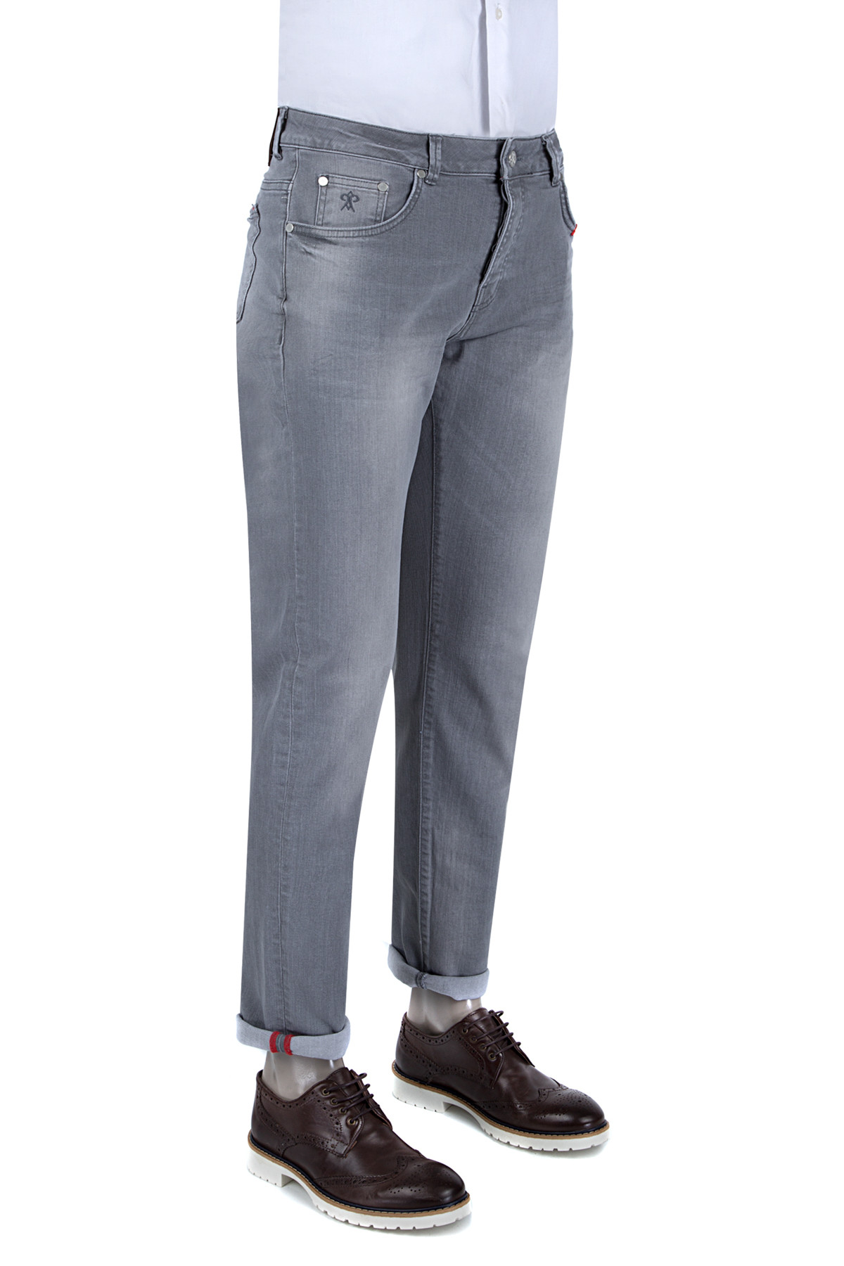 Damat Gri Pantolon Denım - 8DCJ30400910-301 1