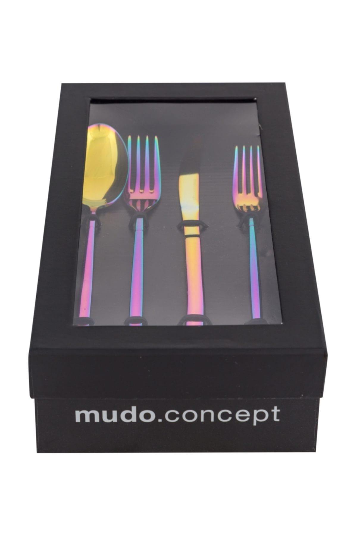 Mudo Concept Grace Çatal Kaşık Bıçak 24 Parça- Colorful 2