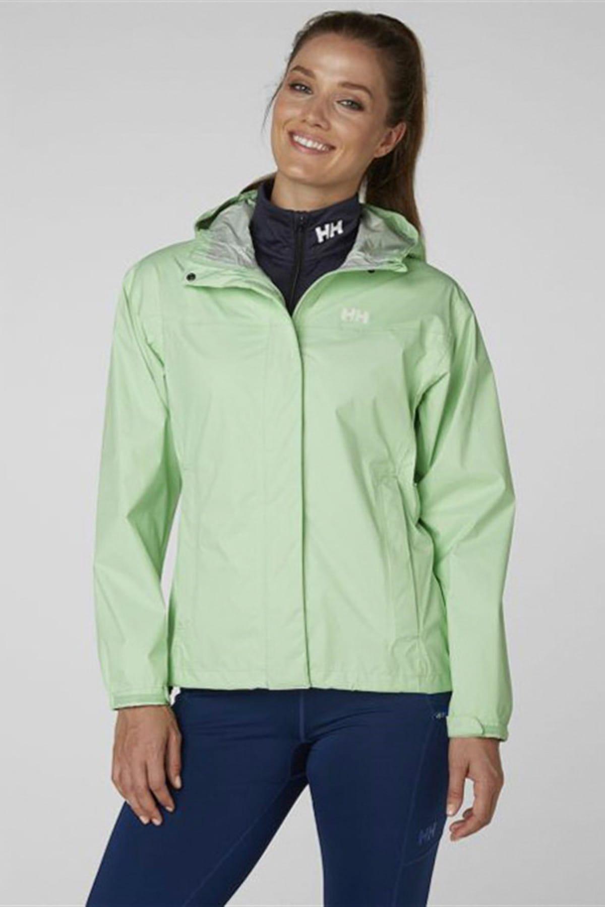 Helly Hansen Kadın Yeşil Spor Ceket 1
