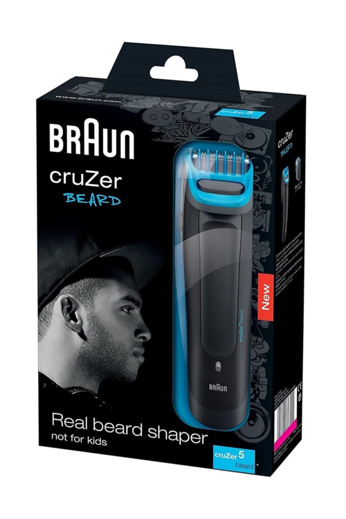 Braun Cruzer 5 Beard Sakal Tıraş ve Şekillendirme Makinesi 4210201048084 2