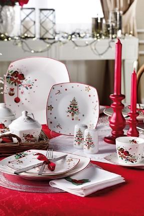 Pierre Cardin 43 Parça Christmas Kahvaltı Takımı 71108938