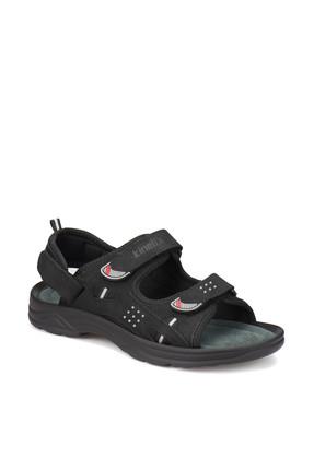 Kinetix LUTHER Siyah Erkek Deri Sandalet 100250025