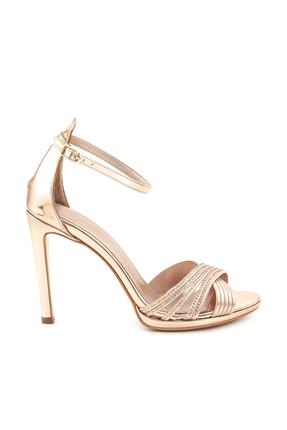 Tanca Hakiki Deri Rose Kadın Topuklu  Ayakkabı 191TCK757 0427