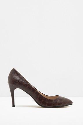 Koton Kadın Kahve Klasik Topuklu Ayakkabı 7KAK20678AA
