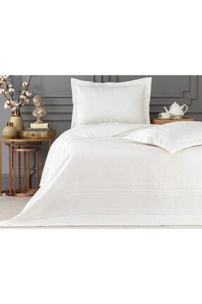 Madame Coco Matiese King Size Yatak Örtüsü - Beyaz