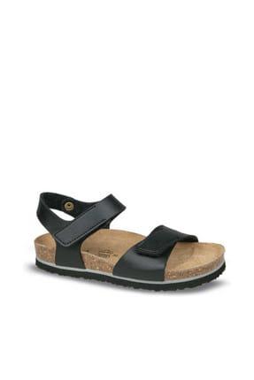Ceyo Siyah Çocuk Sandalet 01554