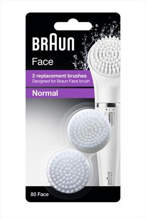 Braun Face Yüz Temizleme Cihazı Yedek Fırça Başlığı 2'li Paket SE80 4210201119500