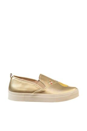 Derimod Açık Altın Rengi Kadın Ayakkabı