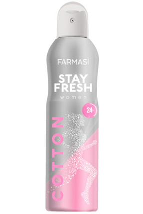 Farmasi Deodorant - Stay Fresh Cotton Deodorant Kadın 150 ml 8690131110017