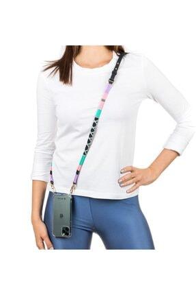 Happy-Nes Askı Iphone 12 Uyumlu Princess Derili Telefon Kılıflı