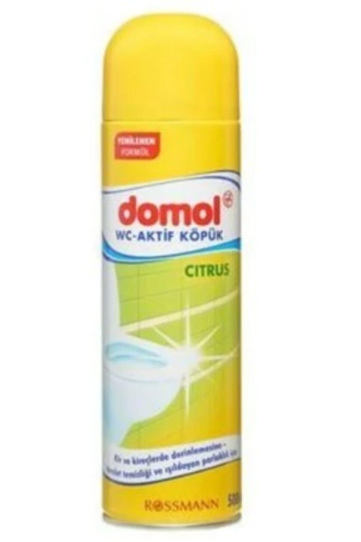 DOMOL Tuvalet Temizleme Köpüğü Limon 500 ml 1