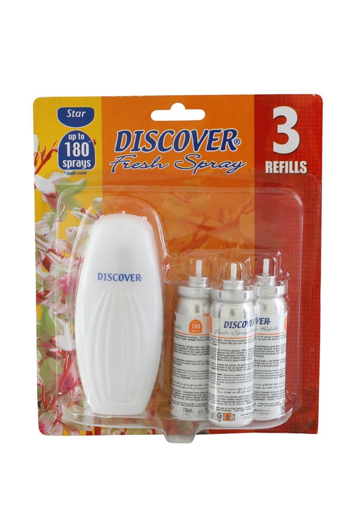 Discover Fresh Spray 3 Yedekli-star 1
