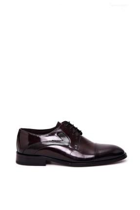 Derimod Hakiki Deri Bordo Erkek Ayakkabı