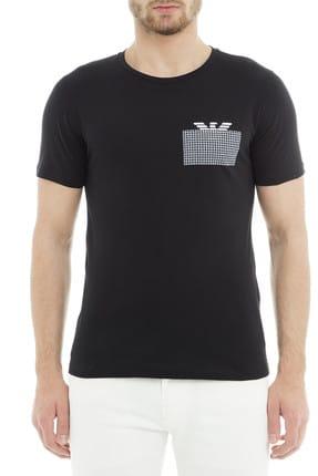 Emporio Armani Siyah Erkek T-Shirt 3G1T6P 1JQ4Z 0999