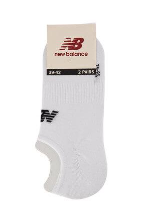 New Balance Unisex Çorap - Sneaker Socks - TRSK804-WT