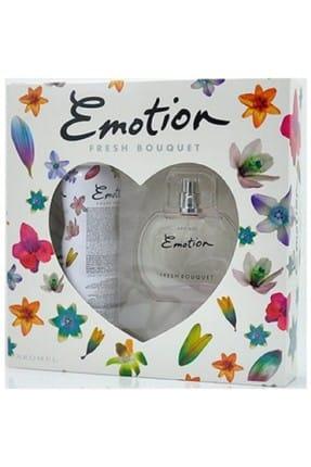 Emotion Parfüm Seti - Fresh Bouquet Edt Kadın Parfüm & Kadın Deodorant 8690586007542