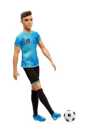 Barbie Ken Kariyer Bebekleri / Futbolcu