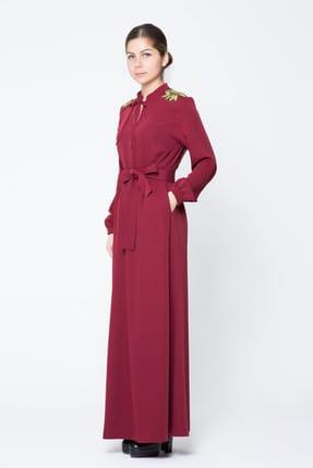 GIZIA CASUAL Kadın Uzun Gömlek Elbise M17KEZ1291G61