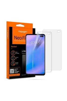 Spigen Galaxy S10 Plus Ekran Koruyucu, Spigen Neo Flex HD 2 Adet