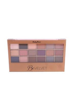 Ruby Rose 18'li Göz Farı Paleti - Shadow Palette Be Velvet 16 g 6295125012616