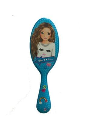 Top Model Saç Fırçası Mavi Eda /