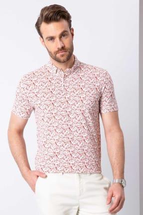 Pierre Cardin Kiremit Slim Fit Polo Yaka T-Shirt