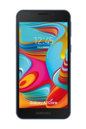 Samsung Galaxy A2 Core 16 GB Mavi Cep Telefonu (Samsung Türkiye Garantili)