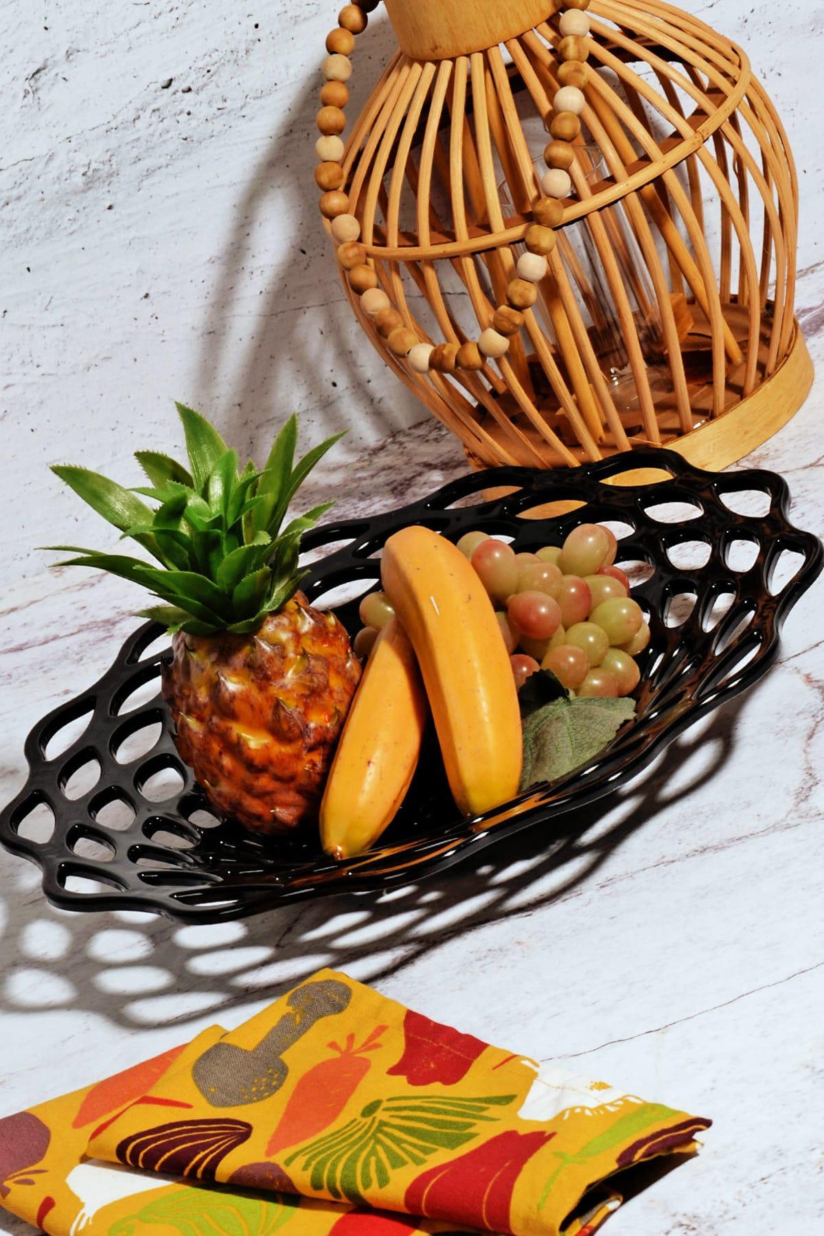 Kitchen Life Akrilik Lüx Tasarım Büyük Meyvelik 1