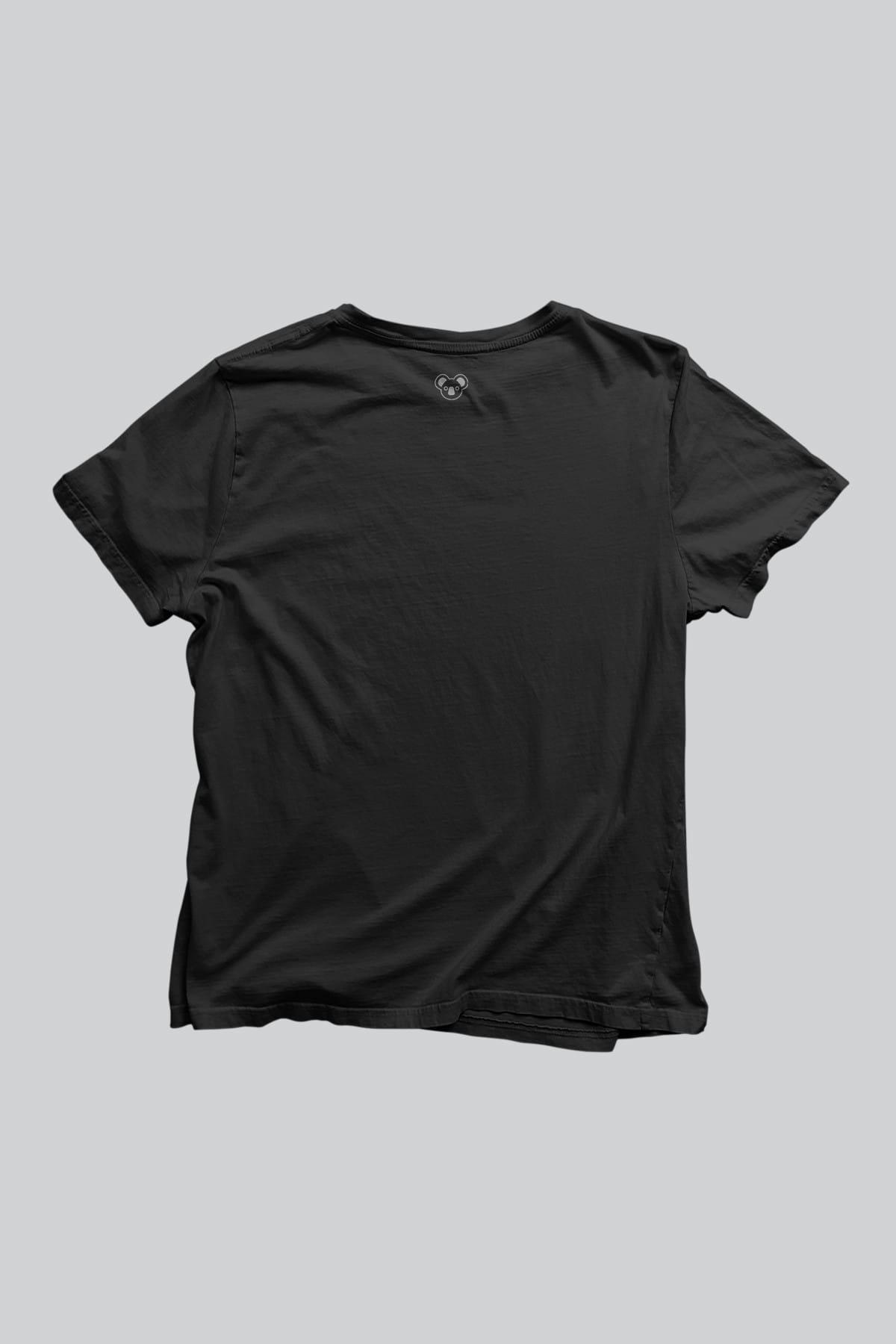 Koala Erkek Siyah T-shirt TPET001STHEPIANO 2