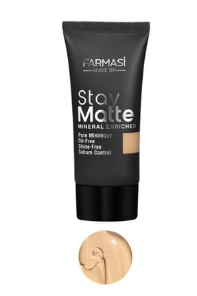 Farmasi Fondöten - Stay Matte Foundation Sand Beige 04 30 ml 8690131772338