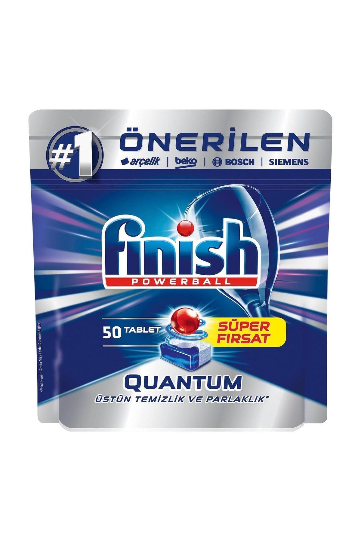 Finish Bulaşık Makinesi Deterjanı Quantum Tableti 50'li 1