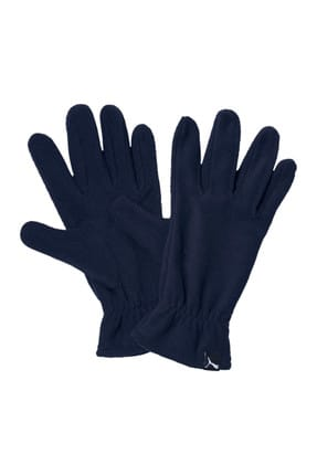 Puma Erkek Eldiven - Eldiven Fleece Gloves Peacoat - 04131704