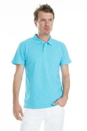 Sabri Özel Erkek Mavi T-Shirt - S00000007103