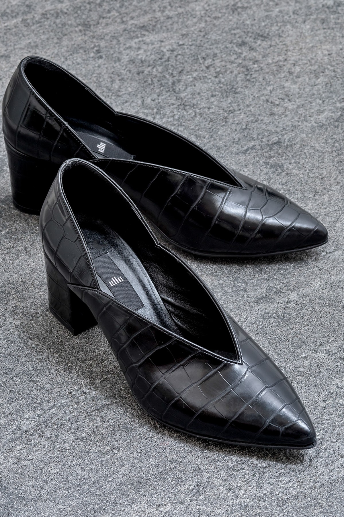 Elle Shoes ETSSUU Siyah Kadın Ayakkabı 1