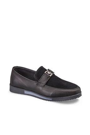 Vicco Tokalı Yarı Süet Ayakkabı Siyah