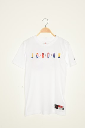 Nike Kids Unisex Çocuk Jorden Rıvals Ss Tee T-Shirt