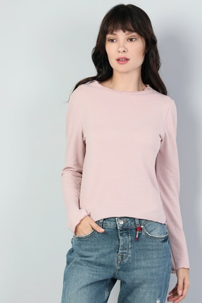 Colin's Pembe Kadın Tshirt U.kol CL1045482