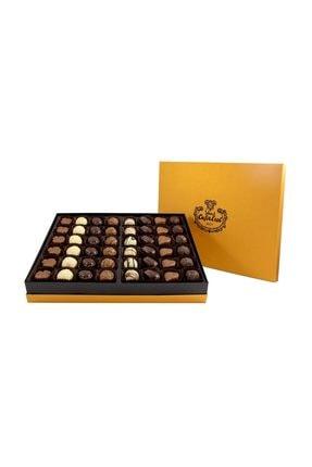 Şekerci Cafer Erol Spesiyal 48 Li Altın Kutu Çikolata